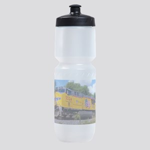 Union Pacific Locomotive Train Sports Bottle