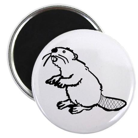 "Oregon Beaver 2.25"" Magnet (100 pack)"