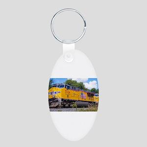 Union Pacific Locomotive Train Keychains