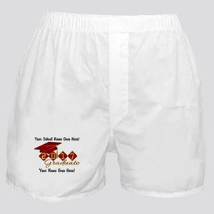 Graduate Red 2017 Boxer Shorts