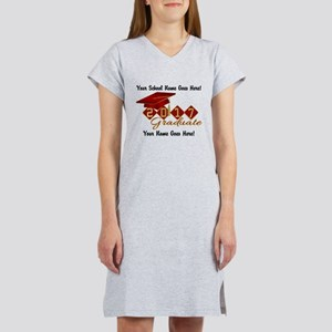 Graduate Red 2017 Women's Nightshirt