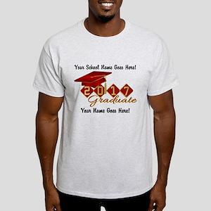 Graduate Red 2017 Light T-Shirt