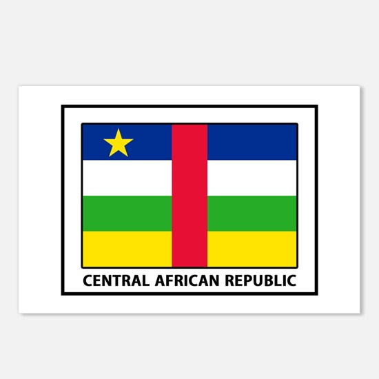 Cute Central african republic Postcards (Package of 8)