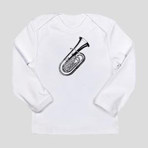 Musical instrument tuba design Long Sleeve T-Shirt