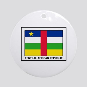 Central African Republic Round Ornament