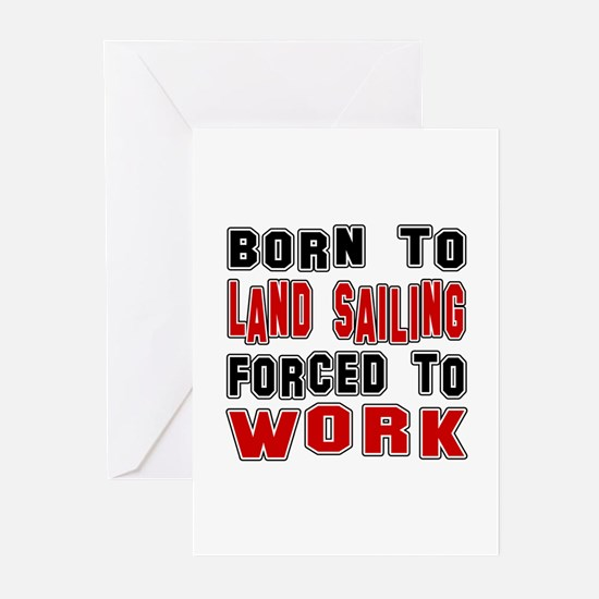Born To Land Sailing For Greeting Cards (Pk of 10)