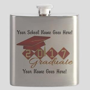 Graduate Red 2017 Flask