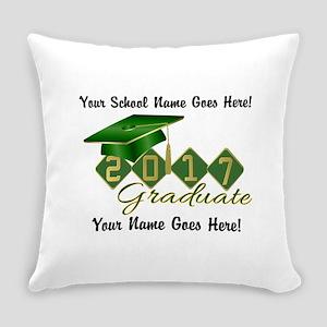 Graduate Green 2017 Everyday Pillow