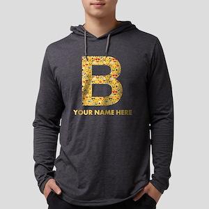 Emoji Letter B Personalized Mens Hooded Shirt