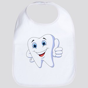 Amusing smiling tooth design Bib