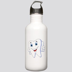 Amusing smiling tooth Stainless Water Bottle 1.0L