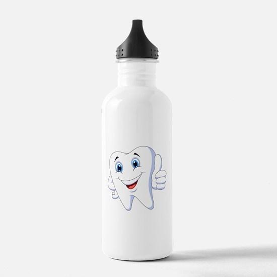 Amusing smiling tooth Water Bottle