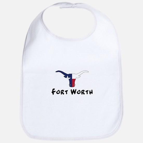 Fort Worth Texas Longhorn Bib