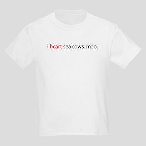 i heart sea cows. T-Shirt