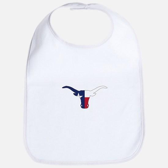 Texas Longhorn Bib