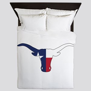 Texas Longhorn Queen Duvet