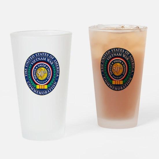 Vietnam War Commemorative Drinking Glass