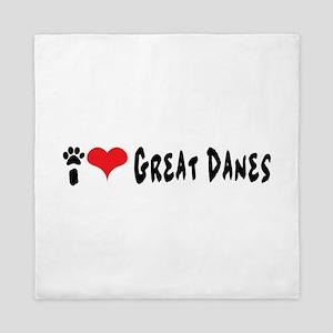 I love Great Danes. Queen Duvet
