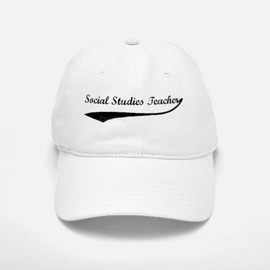 Social Studies Teacher (vinta Baseball Baseball Cap