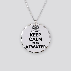 I can't keep calm Im ATWATER Necklace Circle Charm