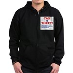 Tax is Theft! Zip Hoodie