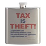 Tax is Theft! Flask