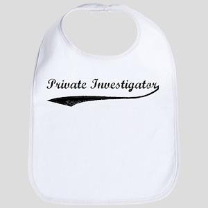Private Investigator (vintage Bib