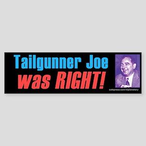 Tailgunner Sticker (Bumper)
