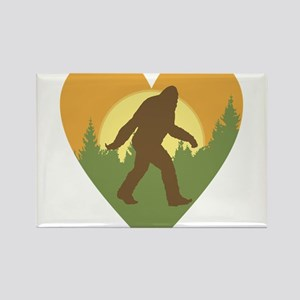 Bigfoot Love Magnets