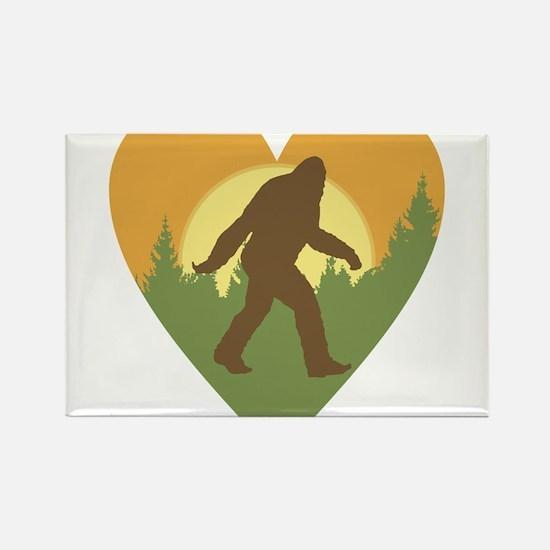 Bigfoot Love Magnets