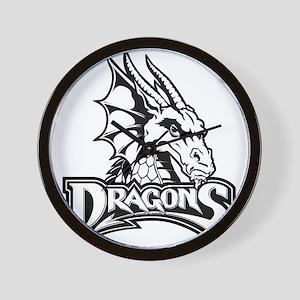 Dayton dragon head design Wall Clock