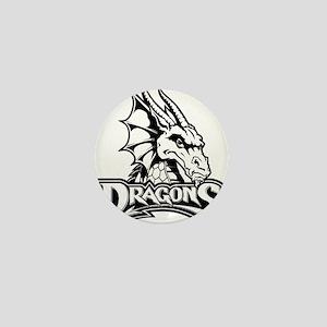Dayton dragon head design Mini Button