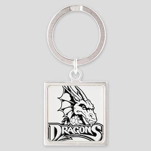 Dayton dragon head design Keychains