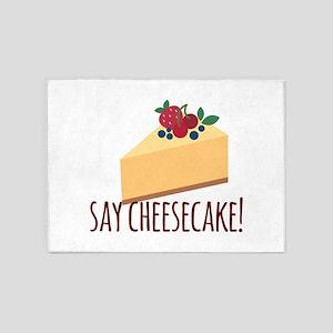 Say Cheesecake 5'x7'Area Rug