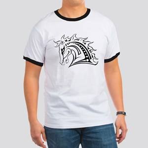 Horse head design art T-Shirt