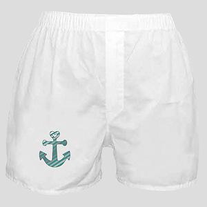 Heart Anchor Boxer Shorts