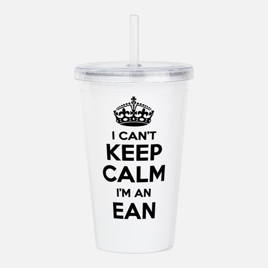 I can't keep calm Im E Acrylic Double-wall Tumbler