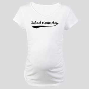School Counselor (vintage) Maternity T-Shirt