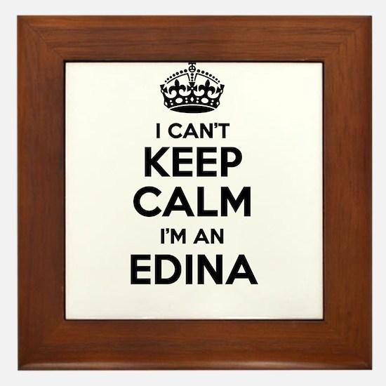 I can't keep calm Im EDINA Framed Tile