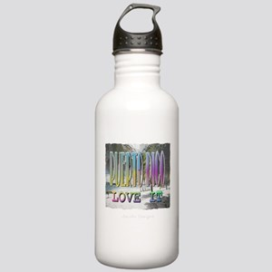 Puerto Rico Sports Water Bottle