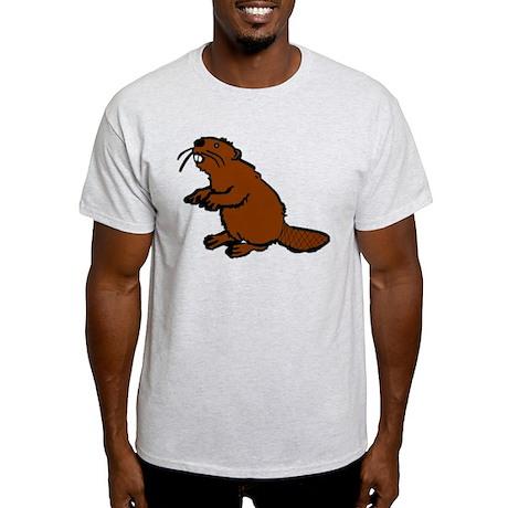 Brown Beaver Light T-Shirt