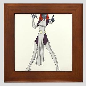 X men devil art Framed Tile