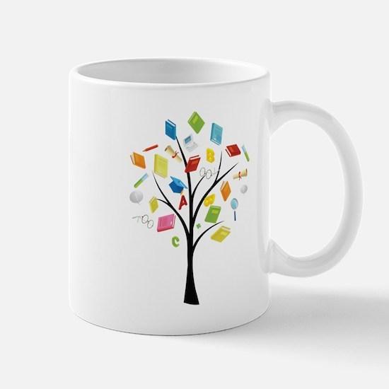 Book knowledge tree Mugs