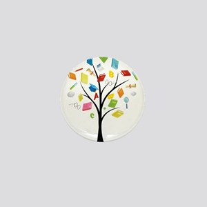 Book knowledge tree Mini Button