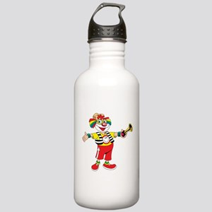clown blowing a horn Stainless Water Bottle 1.0L