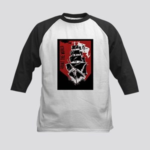 Squat the world pirate ship clip a Baseball Jersey
