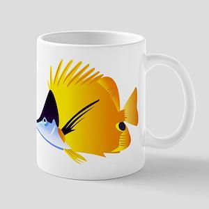 Forceps butterflyfish art Mugs