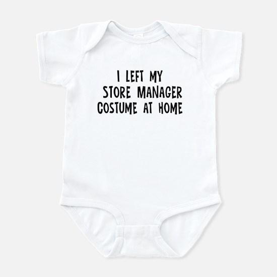 Left my Store Manager Infant Bodysuit