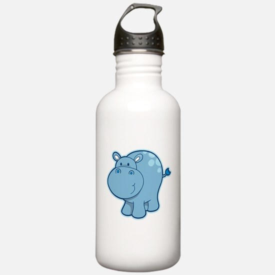 Cute cartoon animal hi Water Bottle