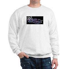 Flower shoulder Sweatshirt